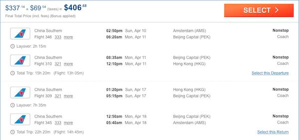cheap tickets to Hong Kong