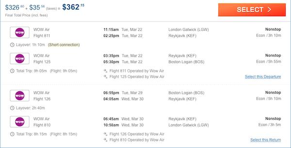 cheap air tickets to Boston