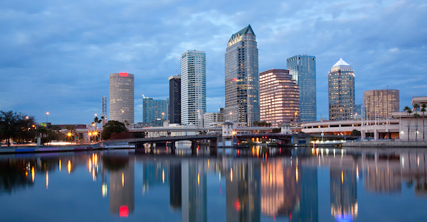 Chicago – Tampa: cheap return flights for $87 including all taxes