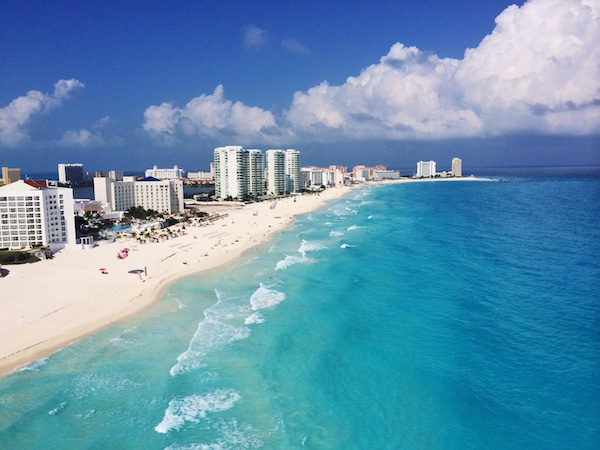 Mexico: New Year's Eve in Cancún – return tickets from Ottawa for only $317 incl all taxes