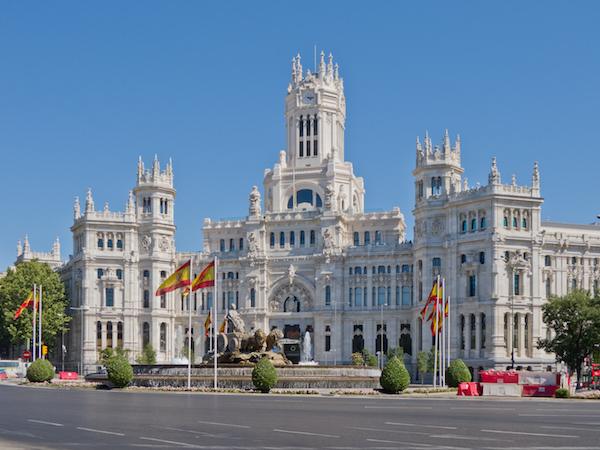 Cheap flights from Boston to Madrid, Spain for $475 including all taxes