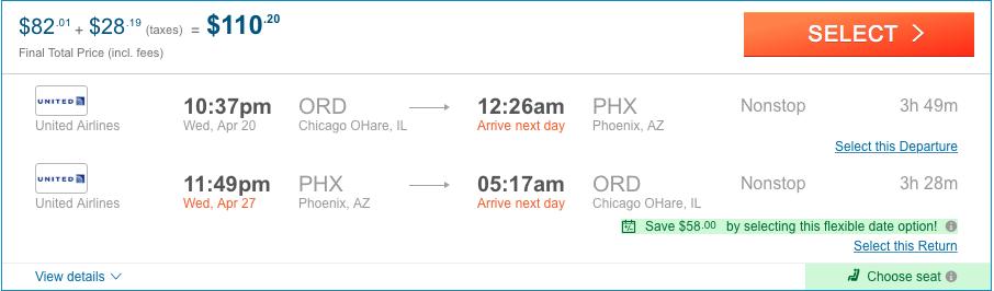 Cheap flights Phoenix