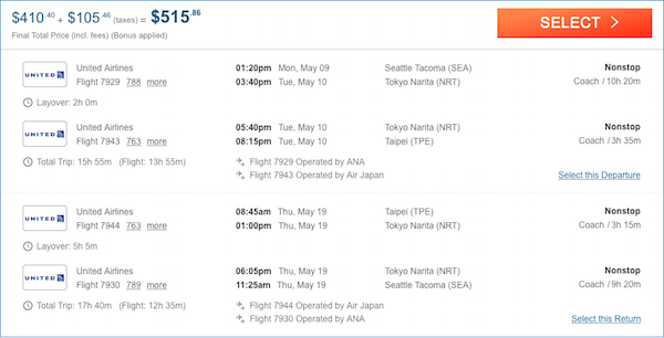 cheap flights Taipei