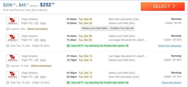 cheap flights las vegas