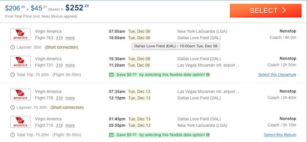 cheap flights las vegas