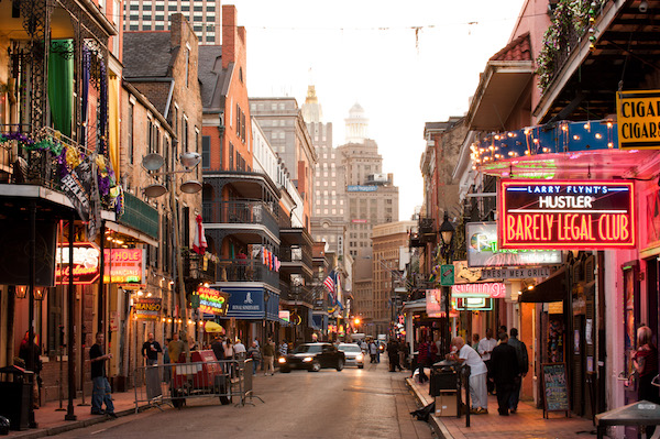 Cheap flights New Orleans